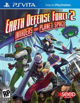 Earth Defense Force 2 Invaders from Planet Space PSV