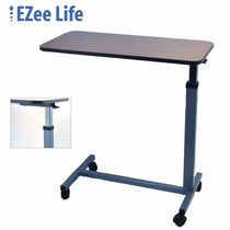 EZee Life Overbed Table Walnut Finish - CH2001