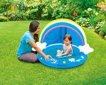 Play Day Baby Shade Pool- Rainbow Design
