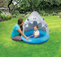 Play Day Inflatable Baby Shade Pool- Shark Design