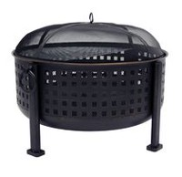 "Pleasant Hearth OFW821RC Langston 12"" Deep Bowl Fire Pit"