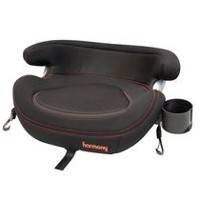 Harmony Big Boost Deluxe Belt Positioning Booster Car Seat