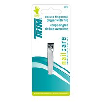 Trim Deluxe Fingernail Clipper with File