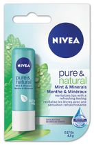 NIVEA Pure & Natural Mint & Minerals Lip Care 4.8 g