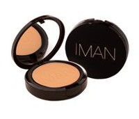 IMAN Poudre compacte de luxe Second To None Clay Medium