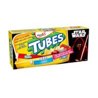 Yogourt punch aux 4 fruits à fraises-bananes Star Wars Tubes par Yoplait