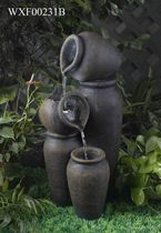 hometrends Pot Patio Fountain