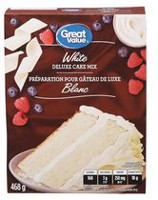 Great Value White Cake Mix