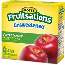 Mott's Fruitsations Fruit Rockets Unsweetened Apple Sauce