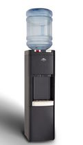 Glacial Top Loading, Black, Hot and Cold Water Cooler