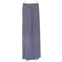 George Women's Maxi Skirt with Foldover Waist Blue XS/TP