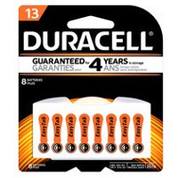 Duracell 13 Hearing Aid 1.45V Zinc Air Batteries