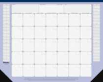 Perpetual Monthly Desk Pad - A181722B