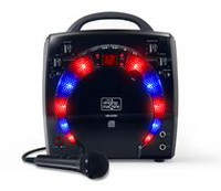 Singing Machine SML283BK Disco Light Karaoke Machine