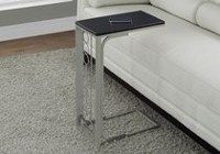 Monarch Specialties Cappuccino/Champagne Accent Table