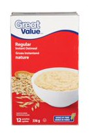 Great Value Instant Oatmeal