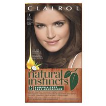 Clairol Natural Instincts Hair Colour Light Chestnut Brown