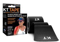 KT TAPE Original Black Therapeutic Kinesiology Elastic Sports Tape