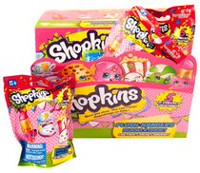 Shopkins Plush 3.5'' Hangers in Foil Bag