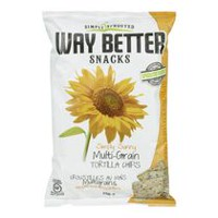 Way Better Snacks Sunny Multigrain Tortilla Chips
