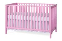 Child Craft™ London 3-in-1 Convertible Crib Pink