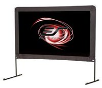 Elite Screens Yard Master Series 100-inch Foldable Outdoor Portable Light Weight Front Projection Movie Screen