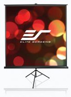 Elite Screens Tripod 120-inch Adjustable Multi Aspect Ratio Portable Pull-up Projection Projector Screen