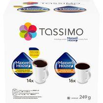 Emballage variété de café Maxwell House Tassimo