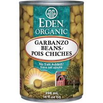 Eden Foods Organic Low Fat Garbanzo Beans
