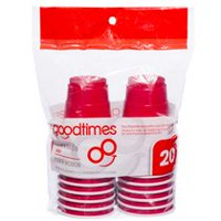 Goodtimes Miniature Red Party Cups