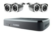 Lorex by FLIR 8 Channel 1080p HD NVR with 4 Cameras, 2TB HDD