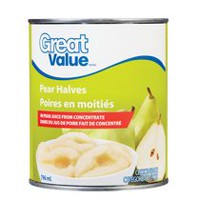 Great Value Pear Halves