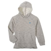 George Girls' French Terry Pullover Hoodie Gray S/P