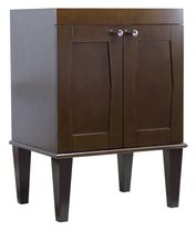 American Imaginations 22.75-in. x 18-in. Transitional Birch Wood-Veneer Vanity Base