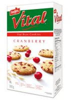 Vital Cranberry Oat Bran Cookie