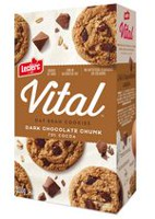 Leclerc Vital 70% Chocolate Oat Bran Cookie