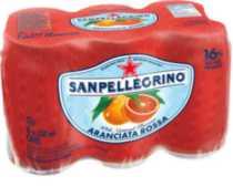 San Pellegrino Aranciata Rossa Sparkling Fruit Beverage