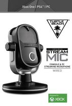 Microphone Ear Force Stream de Turtle Beach pour Xbox One/PS4/PC