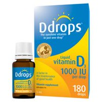 Ddrops® Liquid Vitamin D3 Vitamin Supplement, 1000 IU