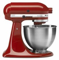 KitchenAid® 300 Watts Ultra Power Stand Mixer Red