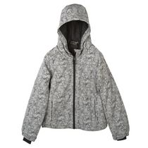 Athletic Works Boys' Insulated Hooded Jacket Gray S/P