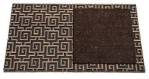 FHE Europa Outdoor Mat Gold/Brown with Brown Patch