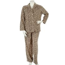 George Plus Women's 2-Piece Plush Pyjama Set Natural 2X