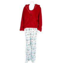 George Women's 3-piece Pyjama Red S/P