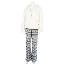 George Women's 3-piece Pyjama White L/G