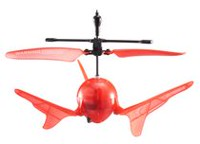 Sky Rover Aero Spin RC Helicopter - Red