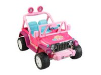 Fisher-Price Power Wheels Barbie Jammin' Jeep Wrangler