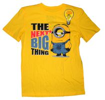 Despicable Me Boy's light up short sleeve crew neck tee XL