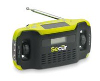 Secur Digital Solar/Dynamo Radio