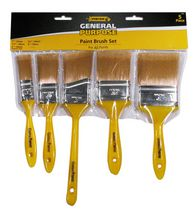 Pintar General Purpose Paint Brush Set, Piece of 5